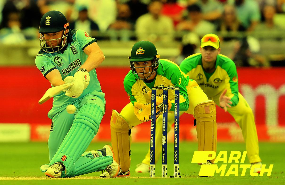 Cricket betting at Parimatch.