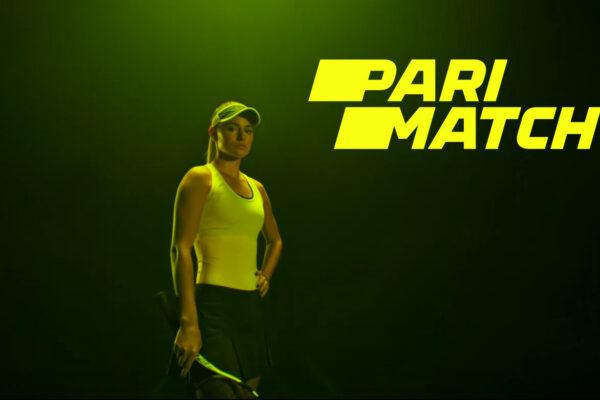 Tennis betting at PariMatch.